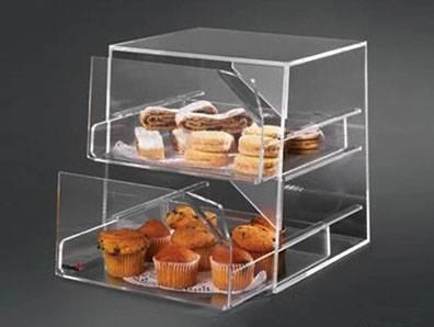 Acrylic food display