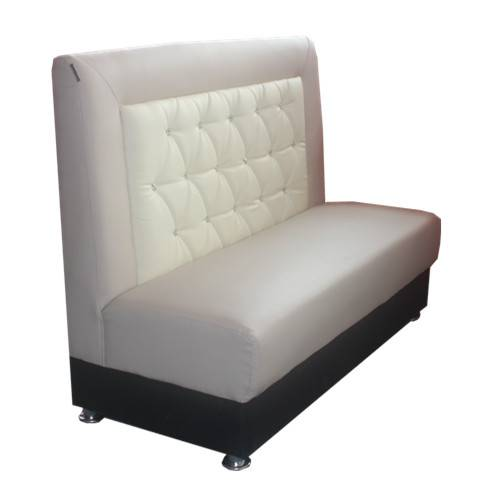 Restaurant booth sofa, modern classical design restaurant booth sofa, leather booth seat