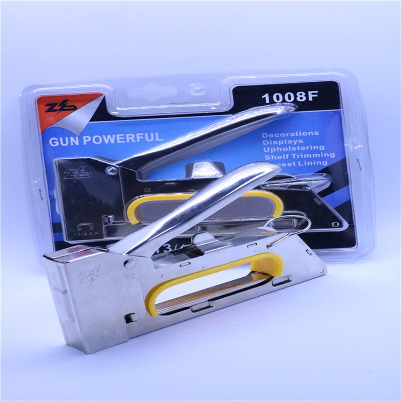 Zhibo manual electroplating hand to nail gunner press nail gun carpenter tools