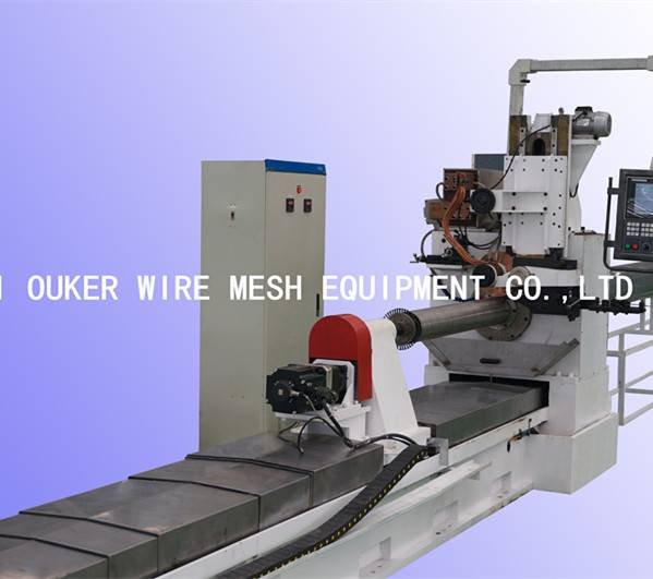 Cnc wedge wire screen welding machine V30/300
