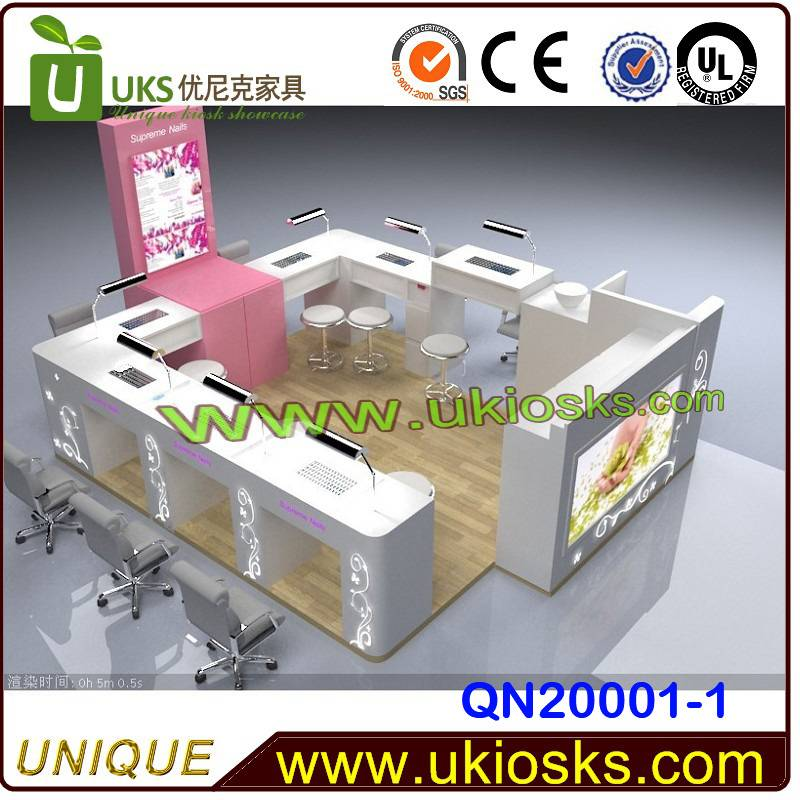 Factory direct sale nail kiosk, manicure station