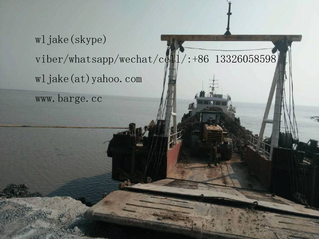 670 DWT Self propelled barge built March 2014 jiangsu china for sale: