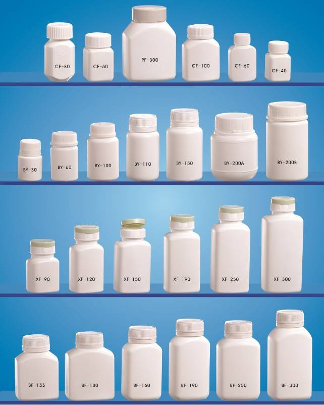 plastic pills bottle injection mould