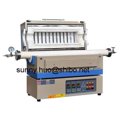 1400C high temperature vacuum tube furnace