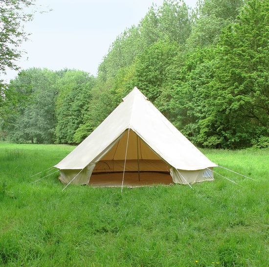 5m canvas bell tent UK bell tent