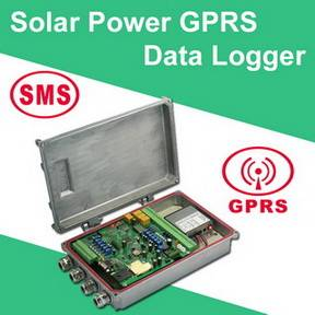Solar Power GPRS Data Logger