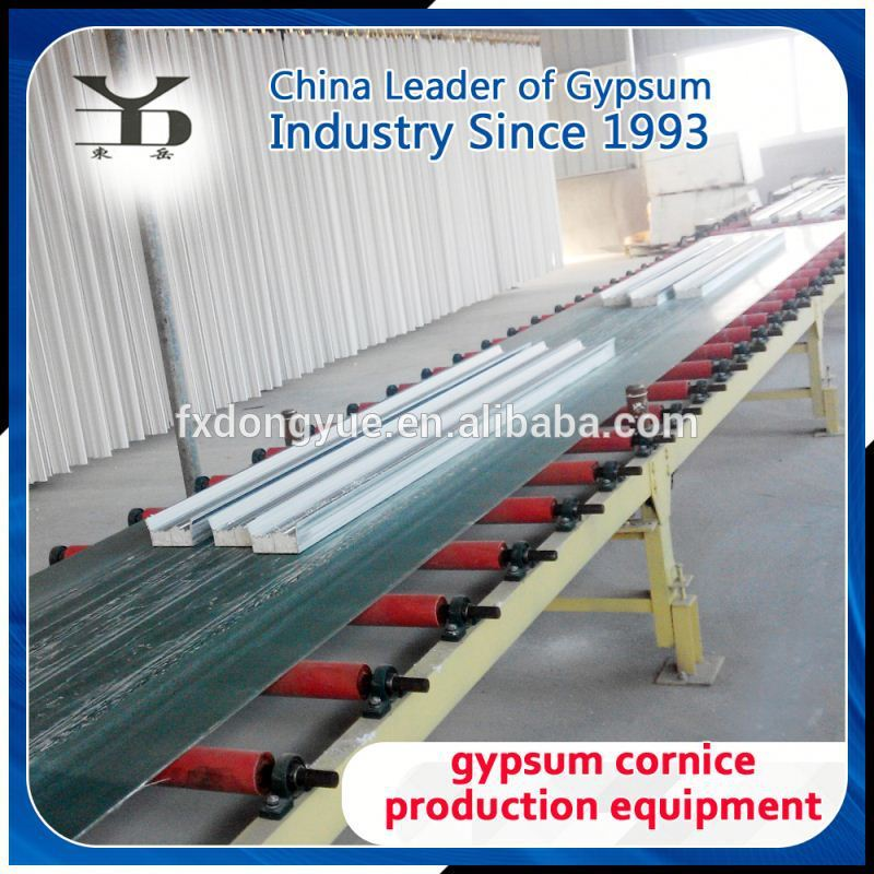 gypsum cornice making machine