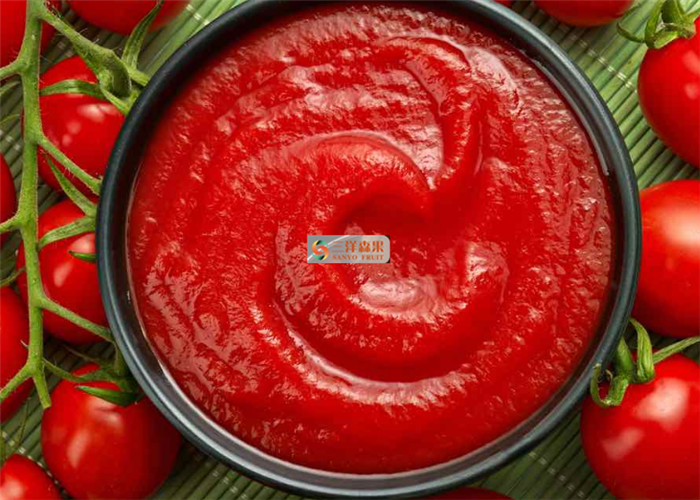 Sweet And Sour Canned Tomato Paste Tomato Ketchup Without Preservatives