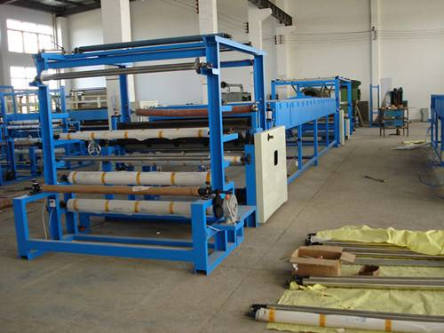 Abrasive Paper and Velvet Laminating Machine