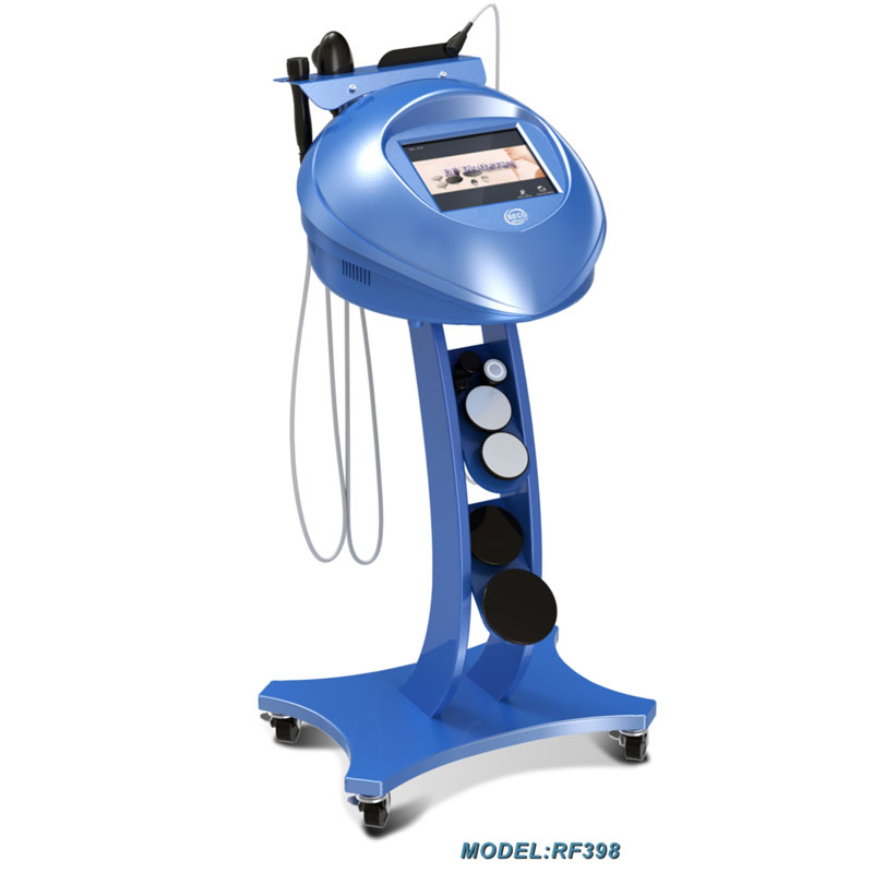 Anti aging diathermy rf beauty machine for wrinkle removal,vascular elasticity and fat removal