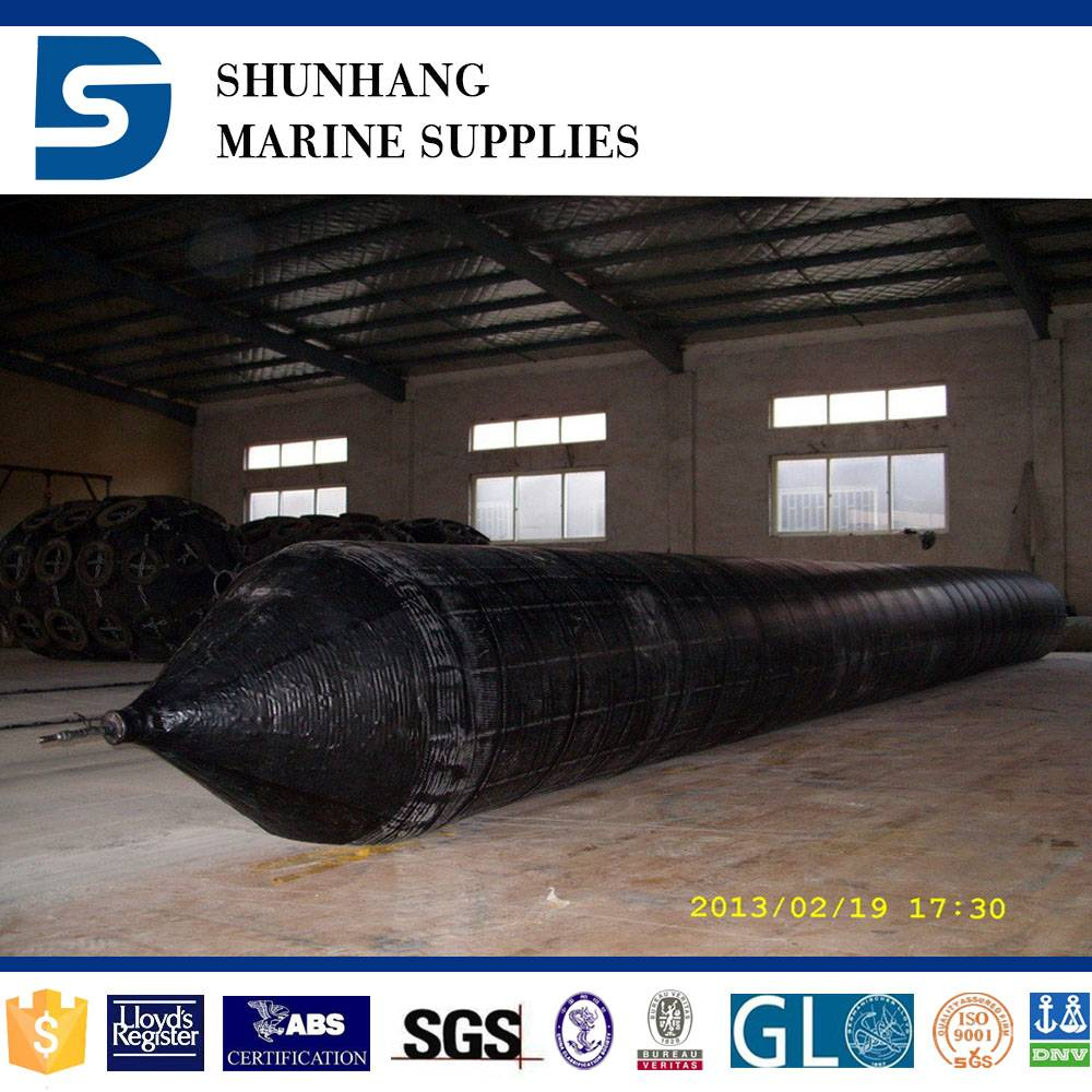 high pressure inflatable ship lifting and docking rubber airbag