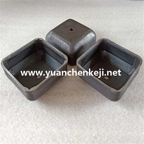 Square foot bowl Stacking foot bowl Column square tube foot Bin stacker foot cup