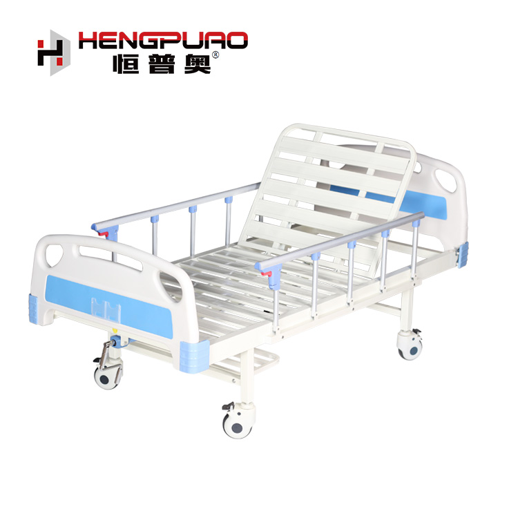 standard size medical nursing cheap reclining hospital bed for paralysis patients