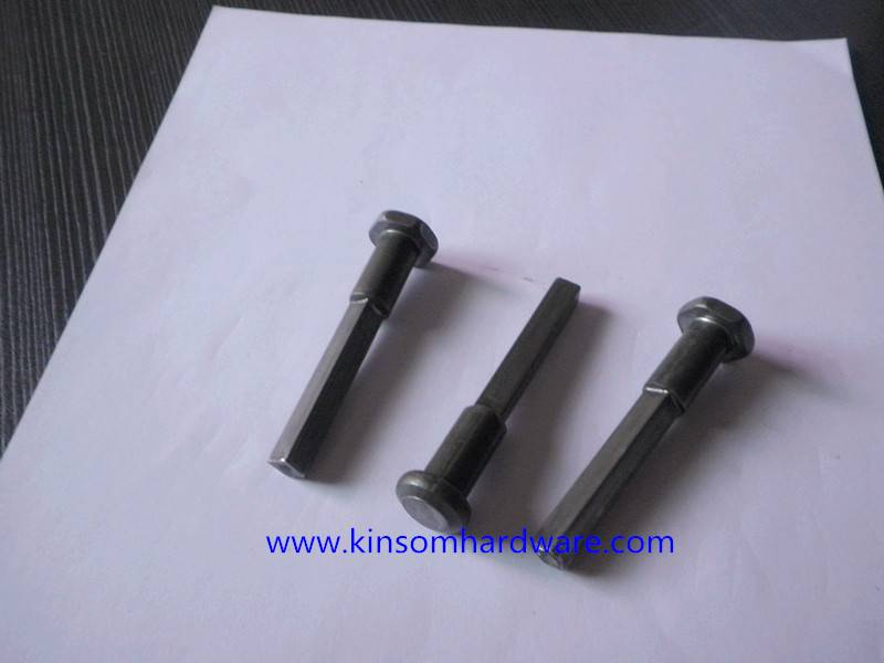 Set bolts for machinery equipment