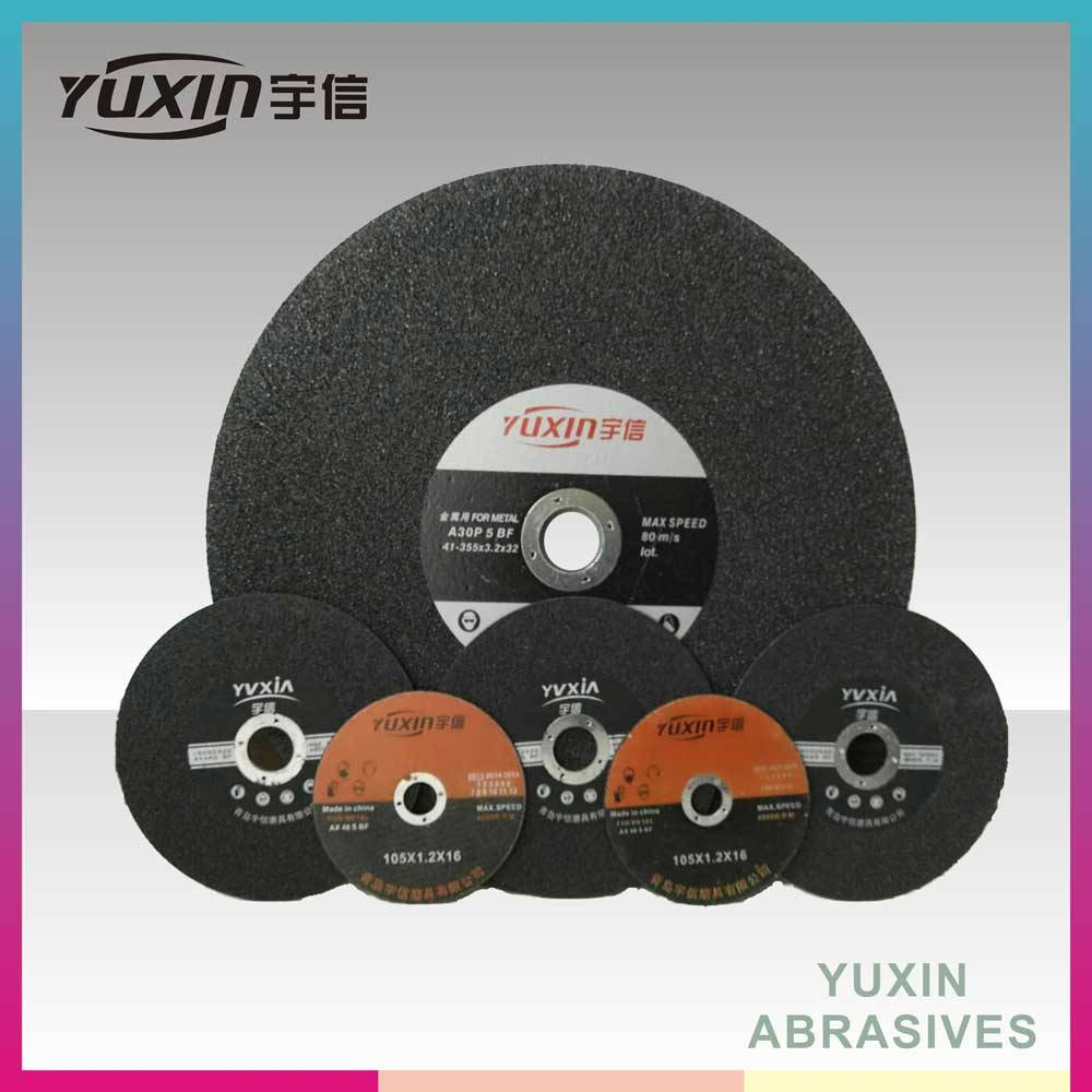 Customized Size Abrasive Disc For Cutting Metal And Stainless Steel