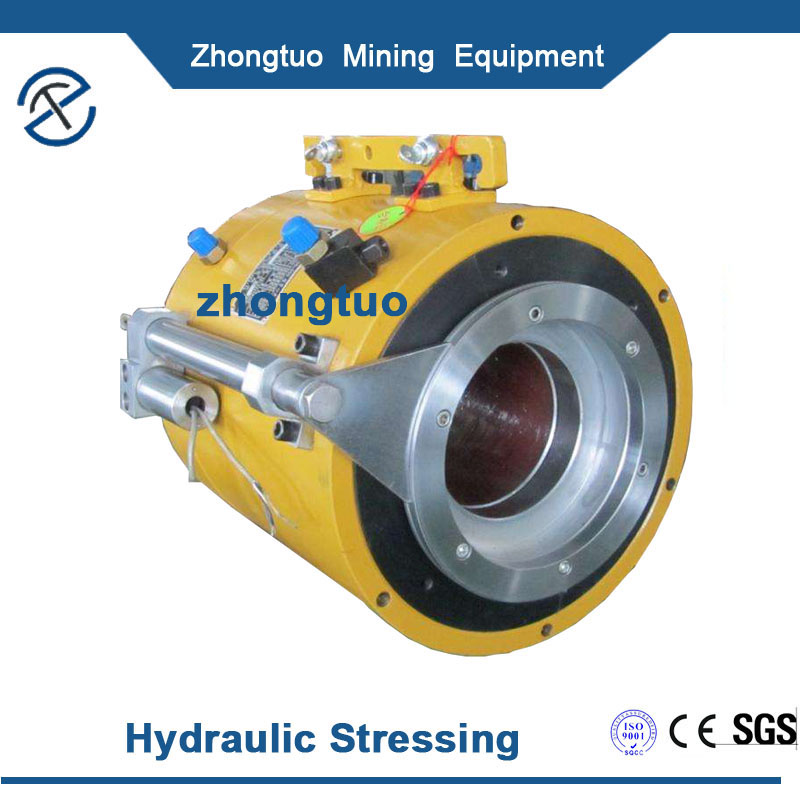 Zhongtuo Prestressed Post Tension Jack For Post Tensioning And Prestressed Concrete