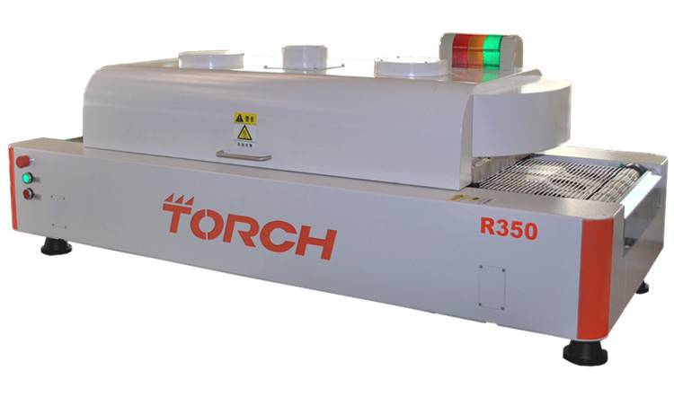 Desk top Reflow Oven with 6Heating Zone R350(Torch)