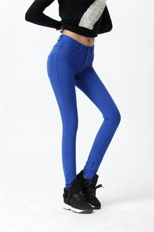 Women Skinny Pencil Pants Stock From China