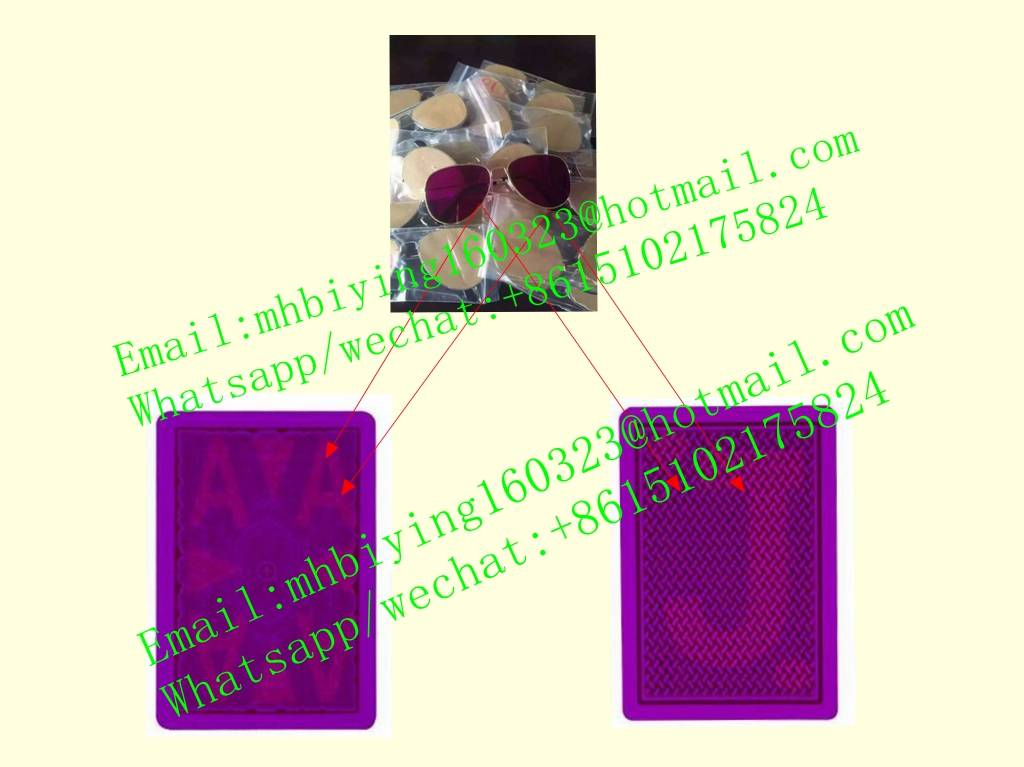 Copag Texas Hold'em spy playing marked cards/game cheat/cards cheat/perspective glasses/invisible in