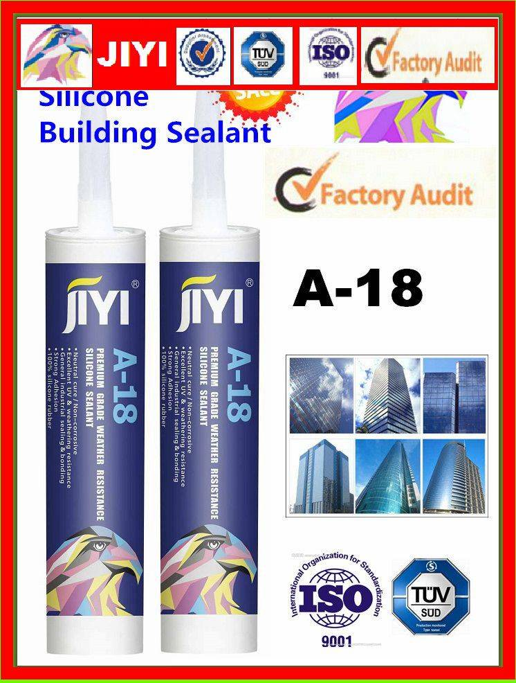 neutral silicone sealant for construction caulking and bonding