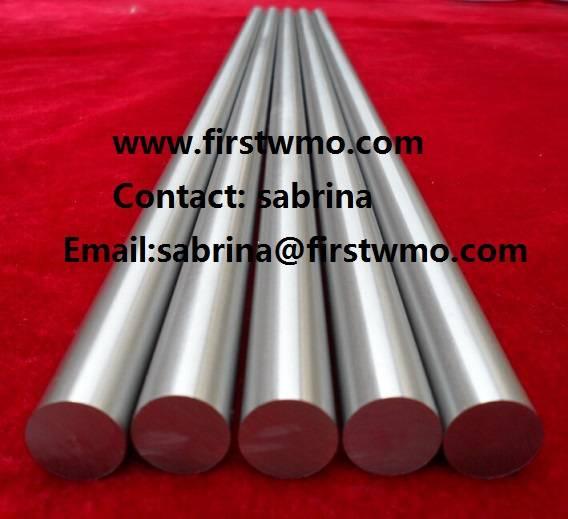 Polished Molybdenum Rod