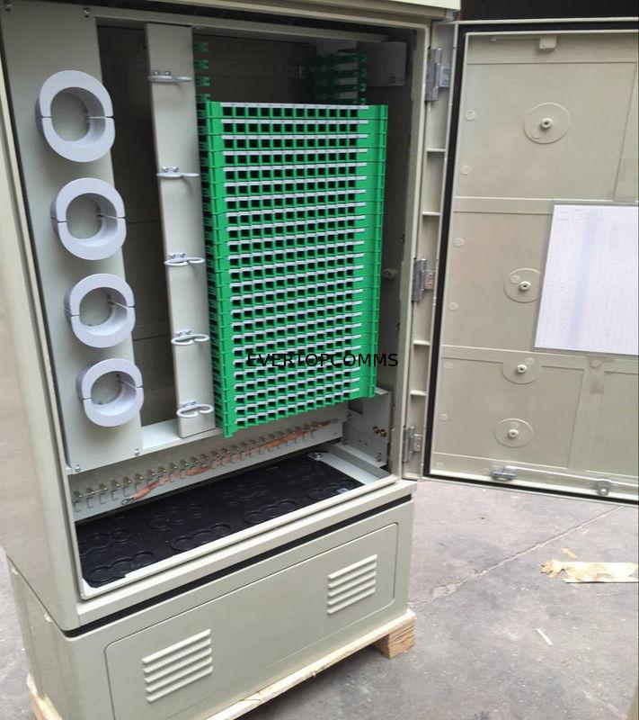 SMC 288 Core Ftth Distribution Box Connection Cabinet Quick Installation