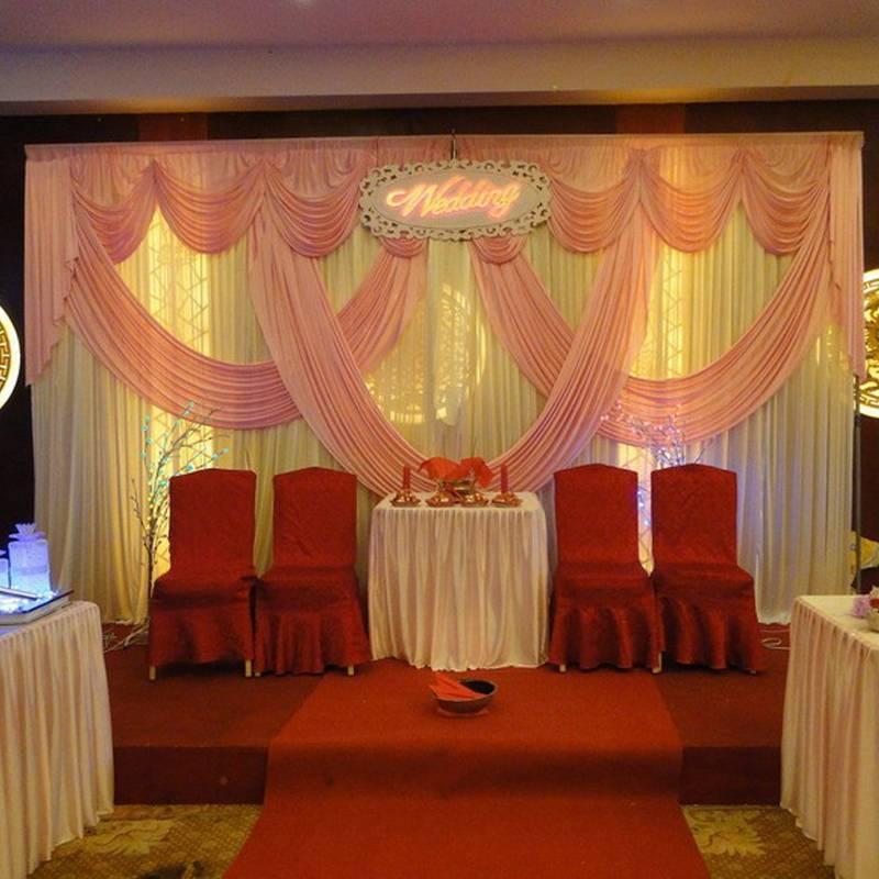 pink wedding backdrop background decoration