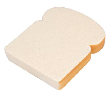 PF0029 Slice of Bread Stress Balls