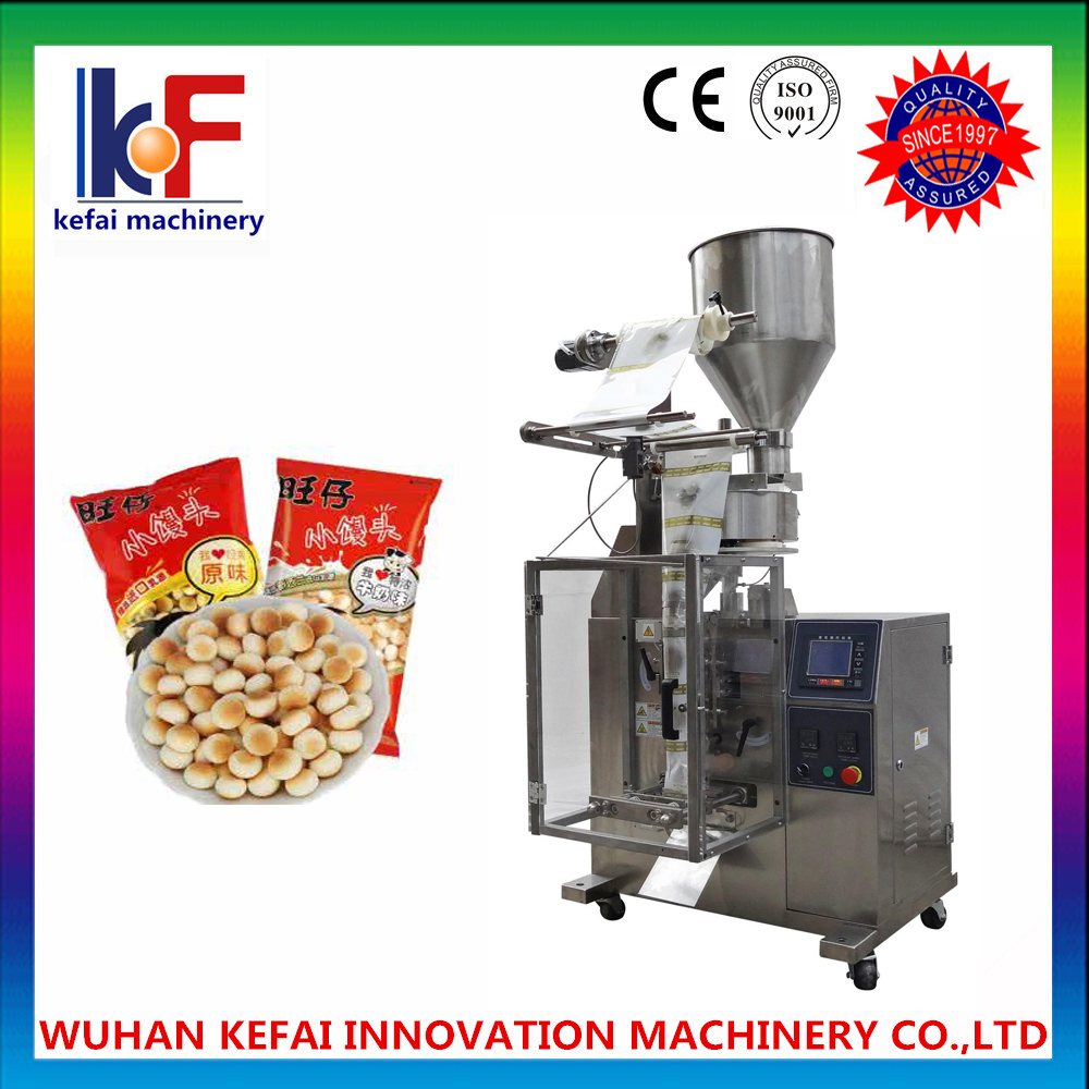 Auto Vertical Packing Machine with Multihead for metal parts, metallic gasket auto filling and packi