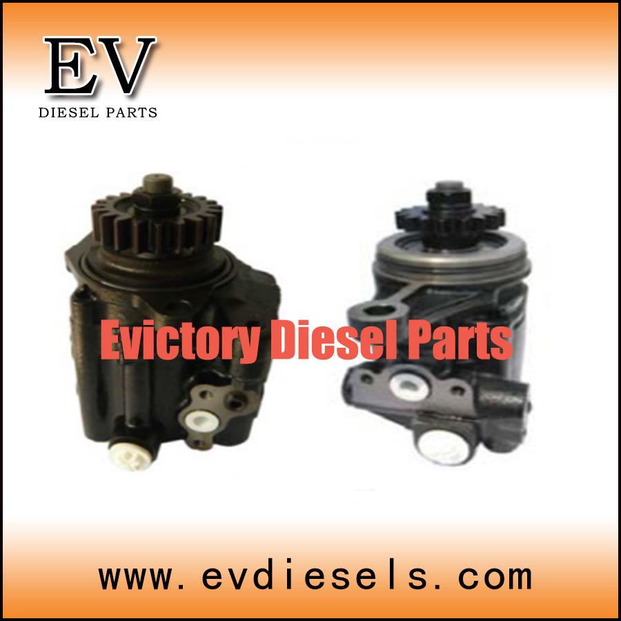 Isuzu Auto Parts Power Steering Pump 10PE1 10PC1 6WG1 6WF1 6WA1 E120  Steering Pump