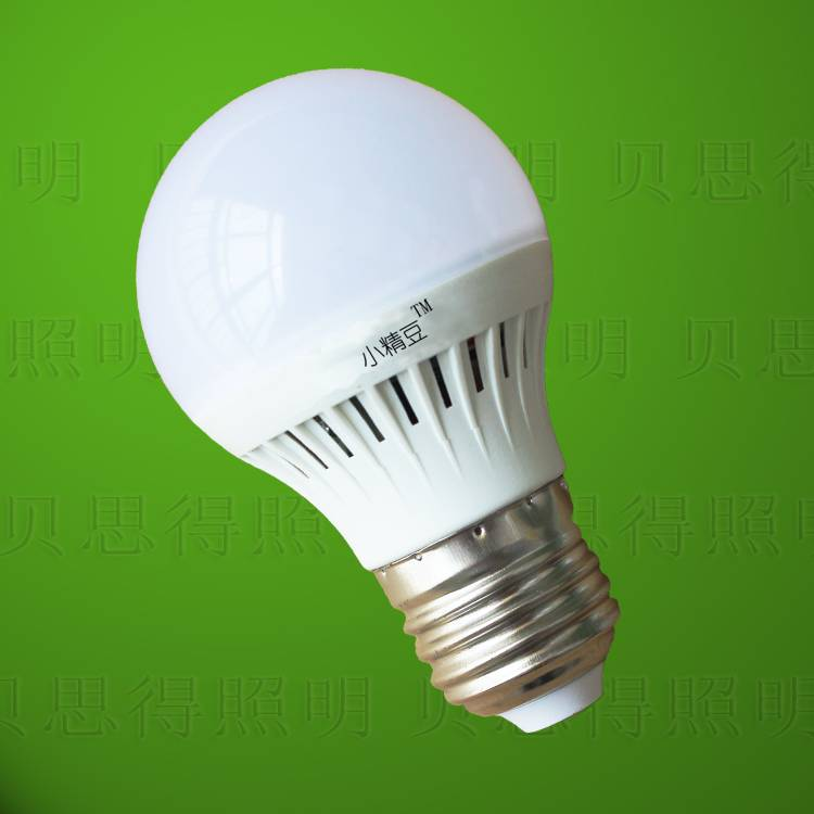 Plastic LED Bulb Light