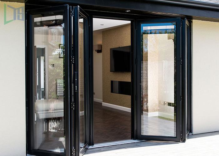 High quality aluminium bi-folding door with ex-factory price