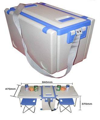 Table cooler box