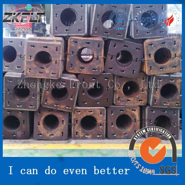400*200*22 Carbon Steel End Plate Square End Plate for Pipe Pile