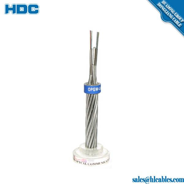 Figure 8 Self-supporting Cable 6 core single mode fiber optic cable GYTC8S