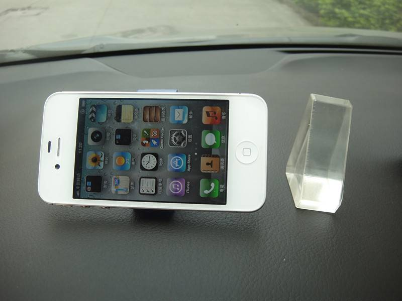 PU gel anti slip pad cell phone holder