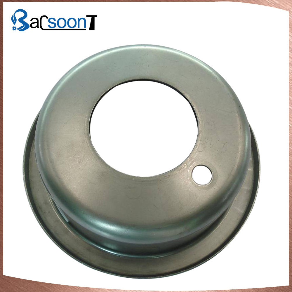 Cutsom stamping steel cover with polishing