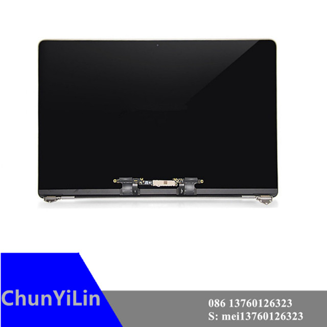 """For Macbook Pro Retina 13"""" A1989 Full LCD Display Screen Complete Assembly 2018 New Space Gray Grey/"""