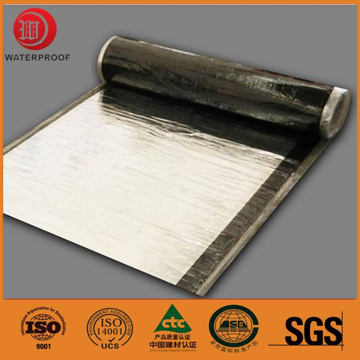 aluminum foil surface waterproofing membrane for roofing underlayment