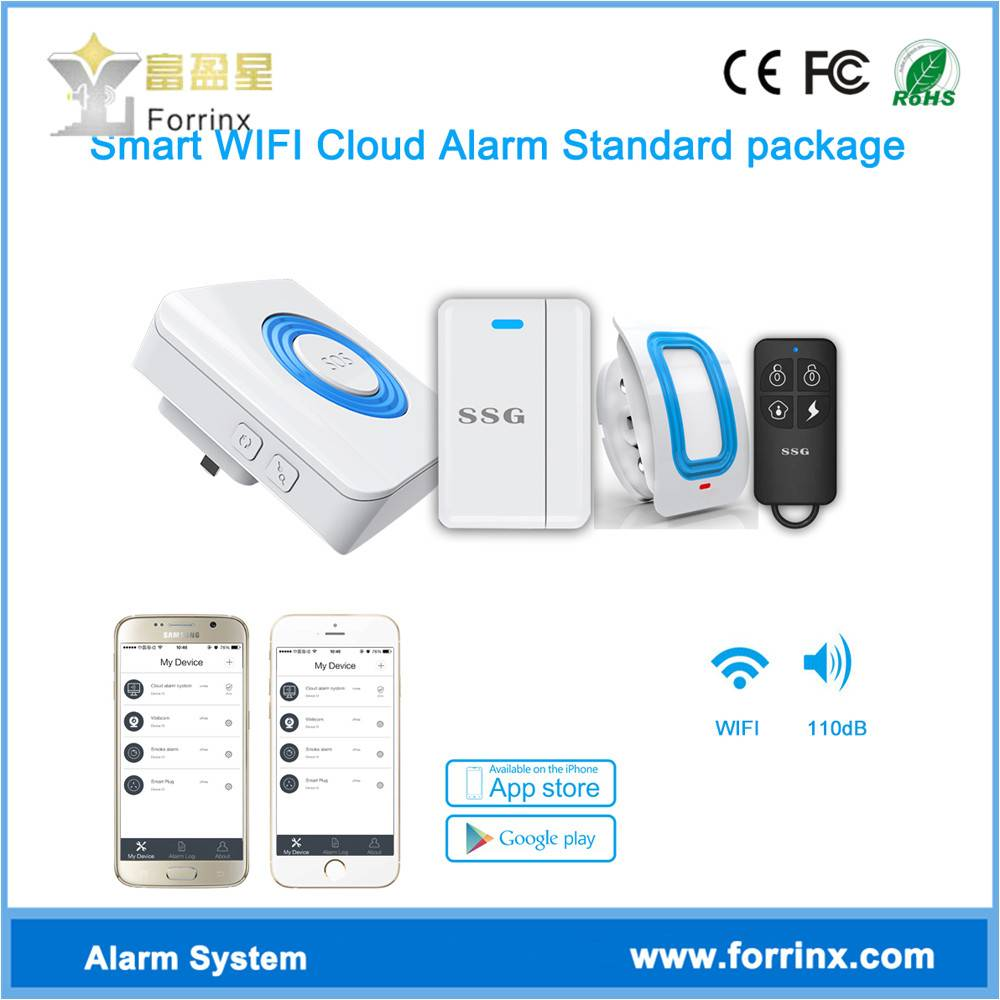 Wifi Alarm System for Home