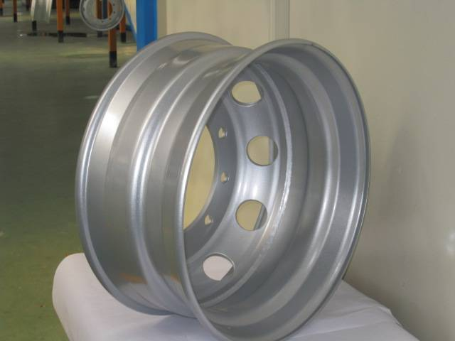 Steel truck wheel rims