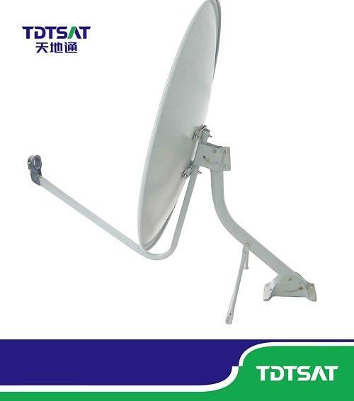 TDT ku-band offset dish antenna 75cm satellite dish antenna