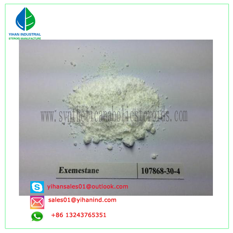 99% purity Exemestane Aromasin CAS #107868-30-4 Anti Estrogen Aromasin Steroid powder Judy