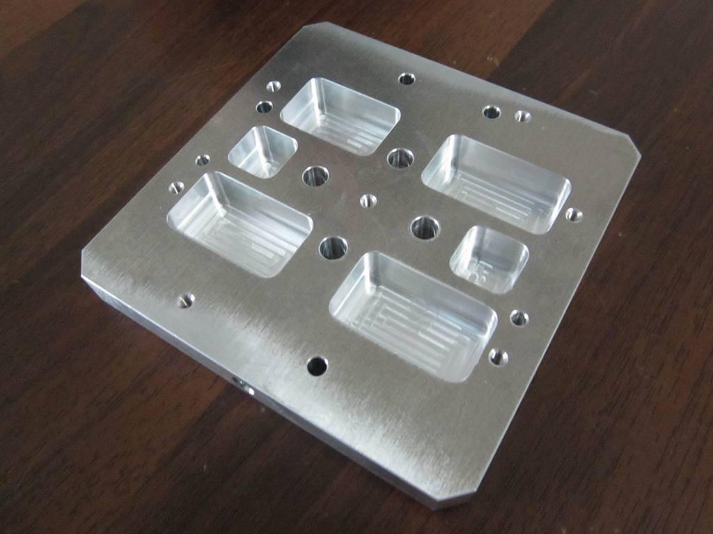 Custom aluminum 4 axis precision cnc machining services