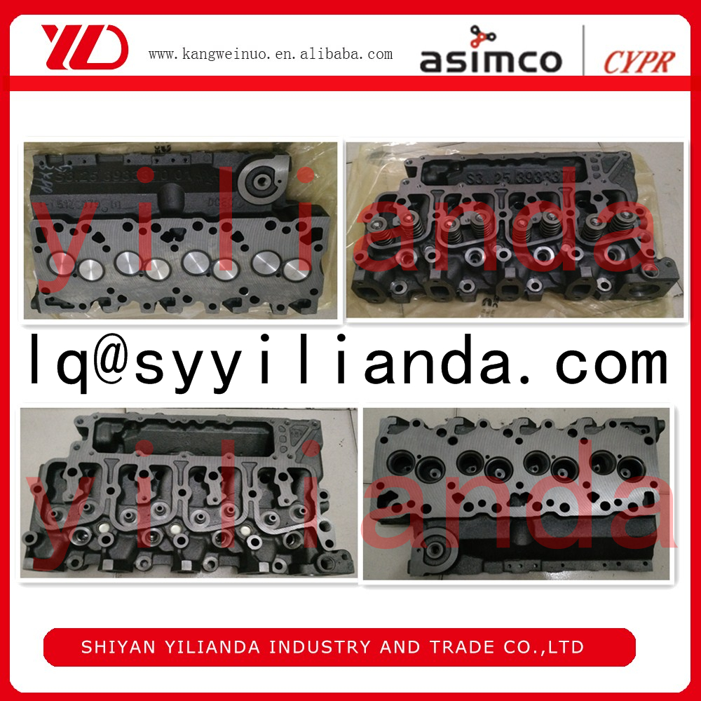 Top quality of 4BT diesel engine cylinder head 3966448 3933370