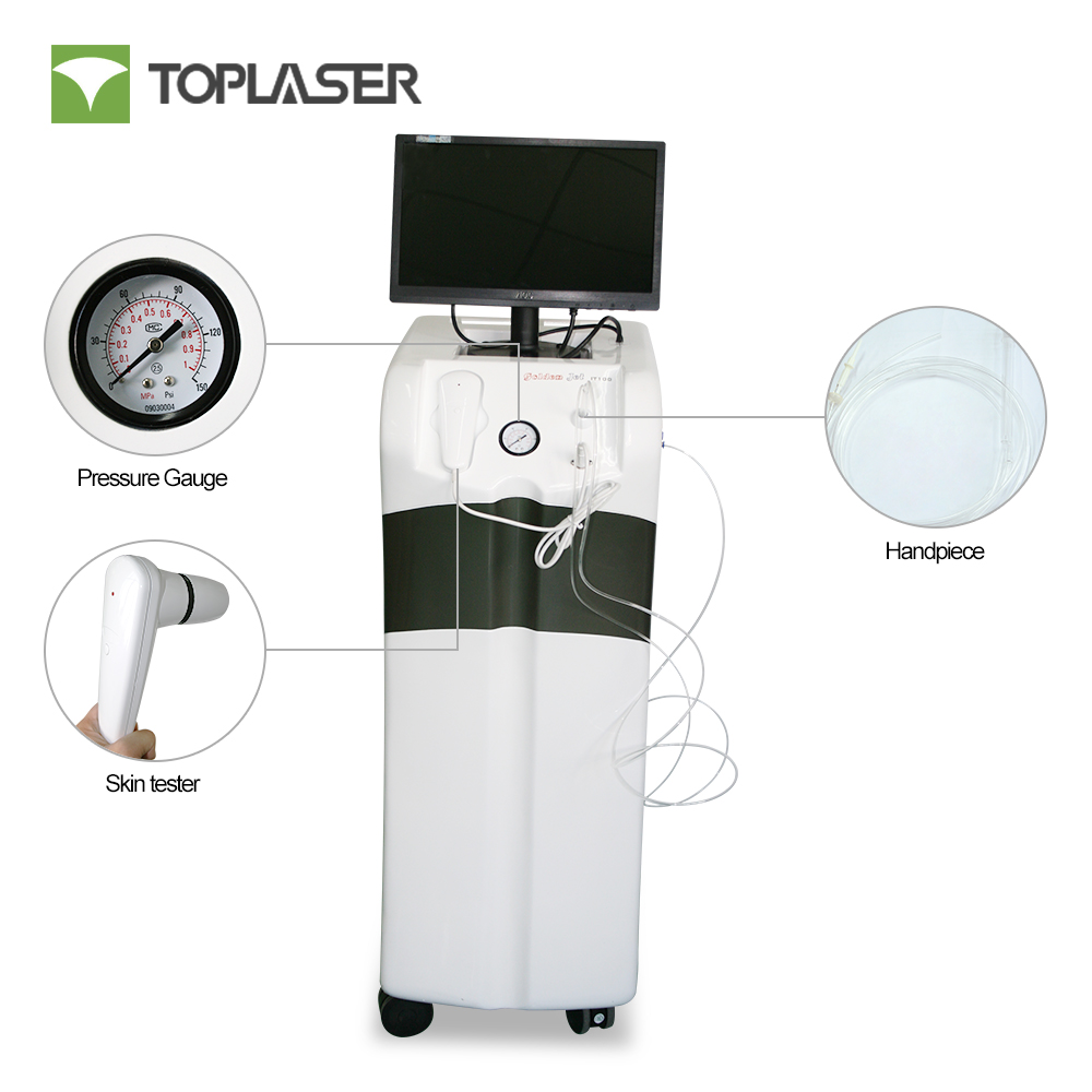 Remove blackhead oxygen water jet facial cleansing machine