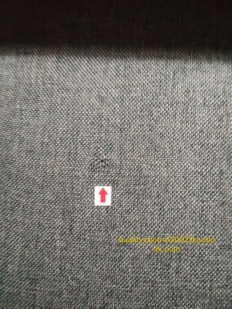 outdoor fabric quality control