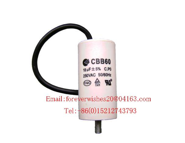 MS capacitor,CBB60,Polypropylene Film Capacitor,washing machine/refrigerator/air conditioner capacit
