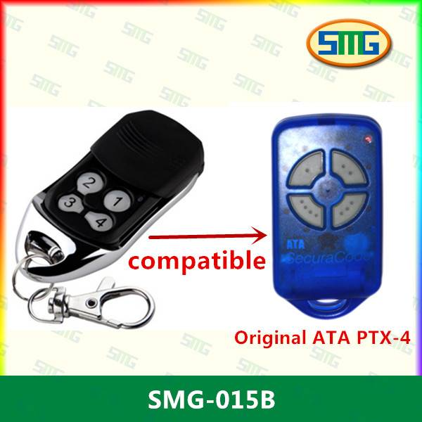 SMG-015A 433MHZ new ATA PTX-4 replacement remote ATA remote rolling code