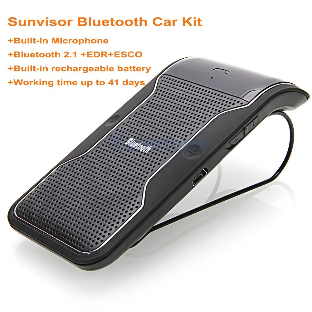 Bluetooth car kit/sunvisor bluetooth speaker phone/bluetooth handsfree